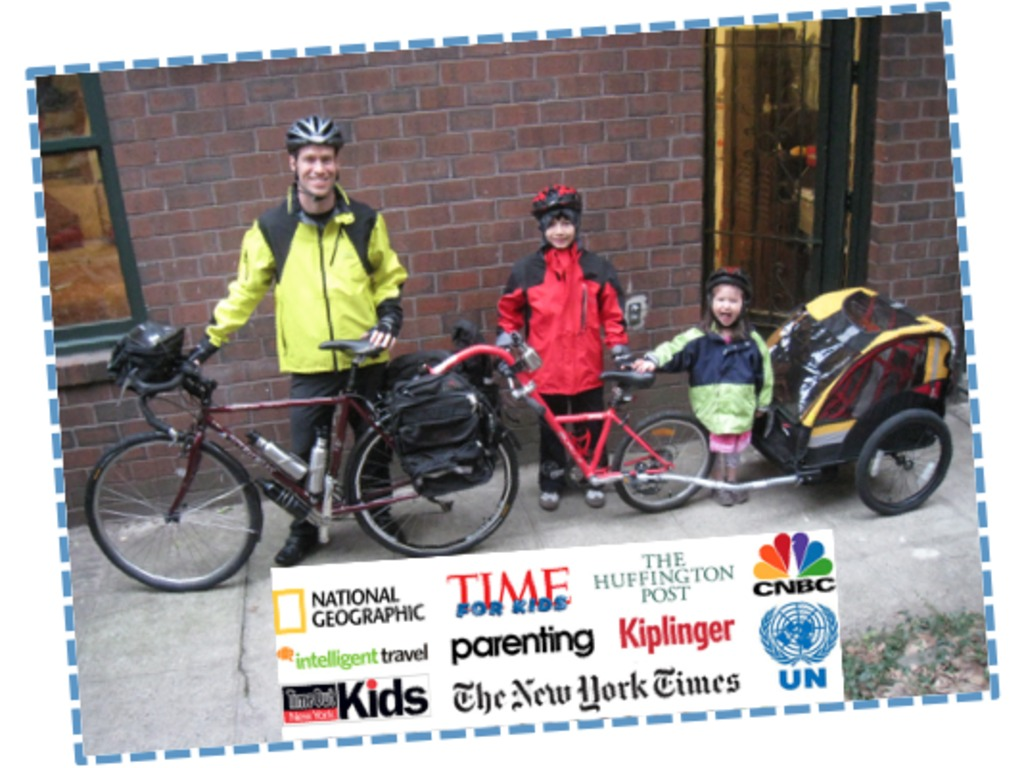 Daunted Courage (Lewis & Clark Trail with Kids on Bikes)'s video poster
