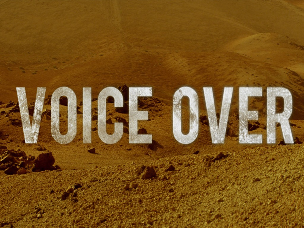 Voice Over's video poster