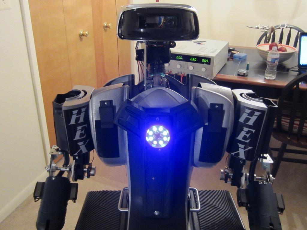 Hex Humanoid Robot Platform's video poster