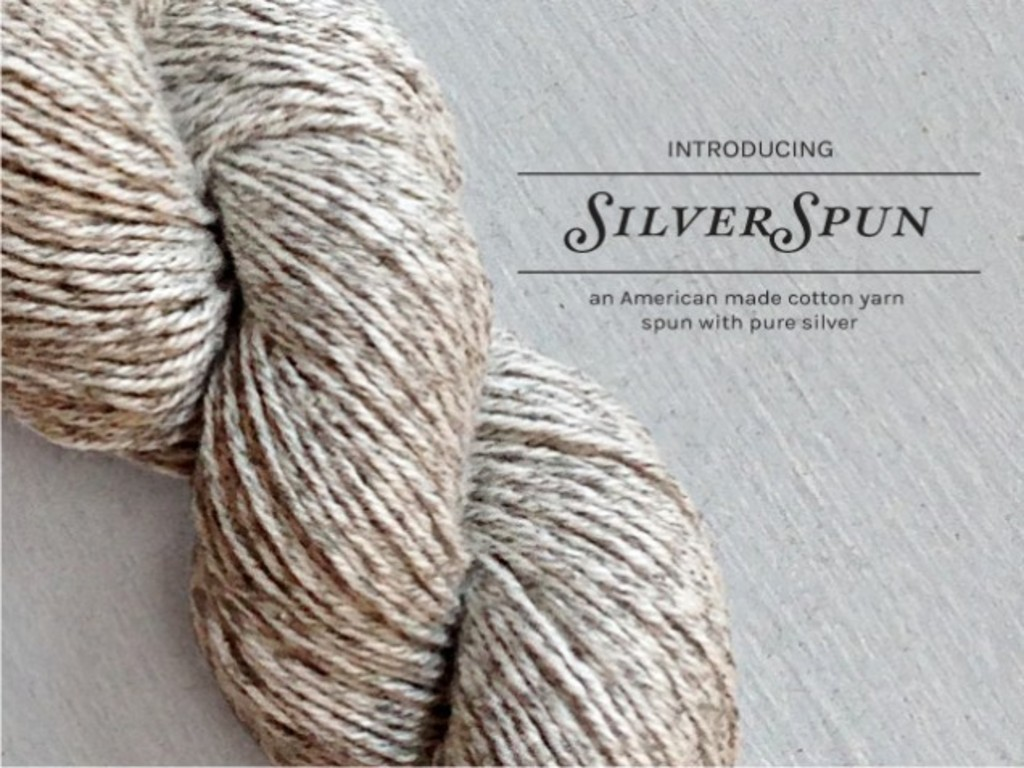 SilverSpun - An American made yarn spun with pure silver.'s video poster