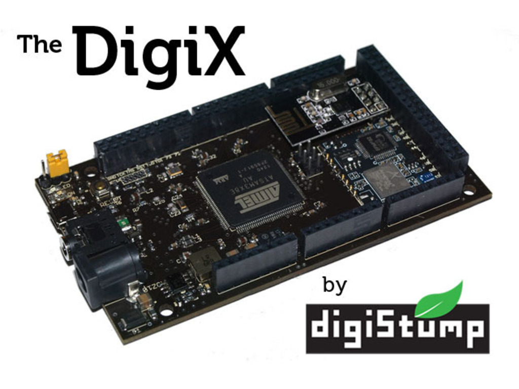 DigiX - The ultimate Arduino compatible board with WiFi!'s video poster
