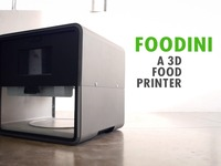Designed for Healthy Eating: Foodini - a 3D Food Printer
