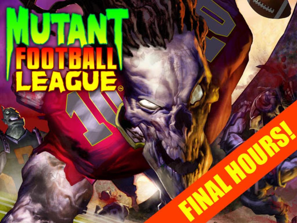 Mutant Football League's video poster