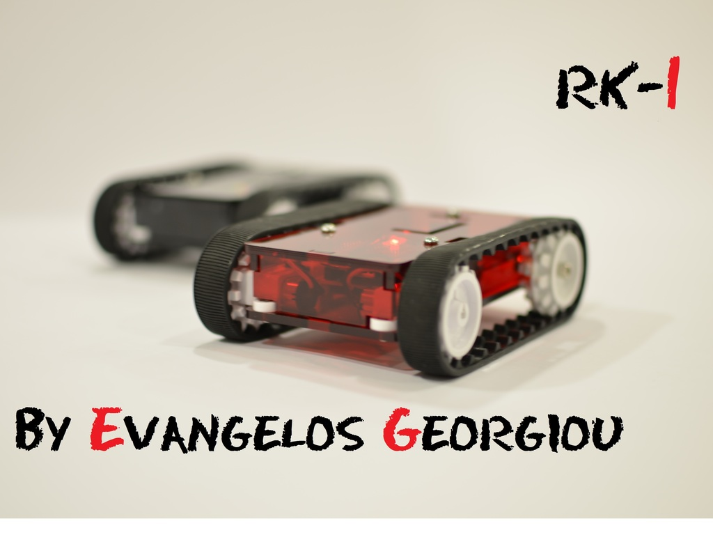 RK-1 | a wifi Arduino mobile robot for iOS & Android devices's video poster