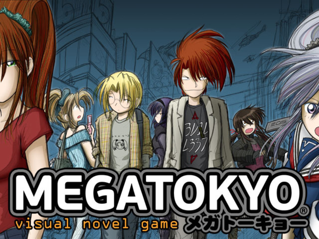 Megatokyo Visual Novel Game's video poster