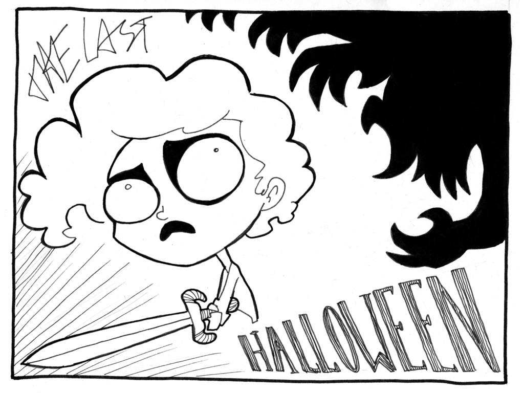 2013: The Last Halloween's video poster