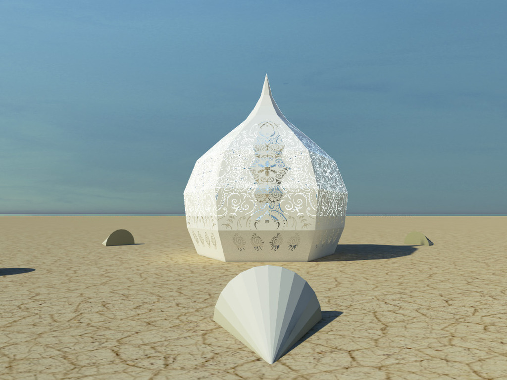 The MerKaBa Project at Burning Man 2013's video poster
