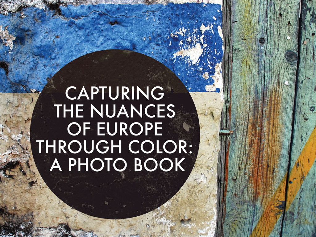 Capturing the Nuances of Europe Through Color: A Photo Book's video poster
