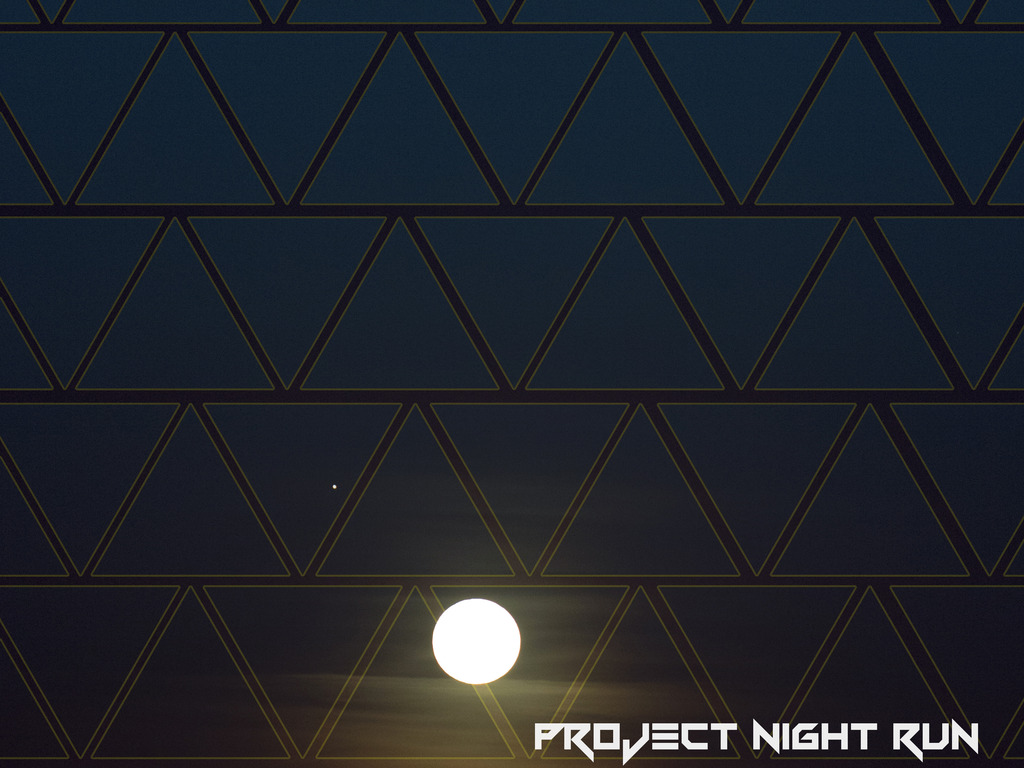 Project Night Run's video poster