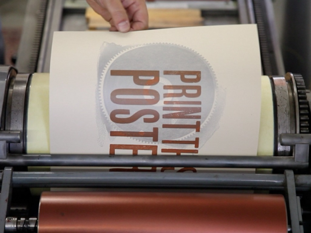 The Open Press: Chattanooga's Print and Book Arts Co-op's video poster
