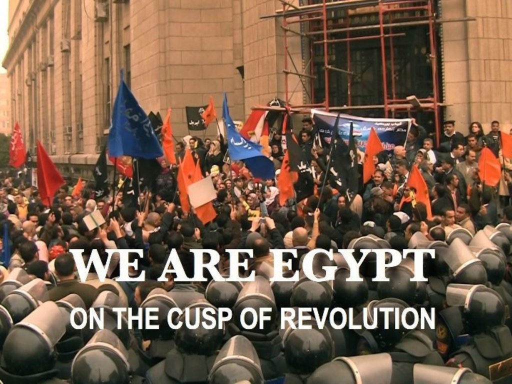 'We are Egypt' - The Story Behind the Revolution's video poster