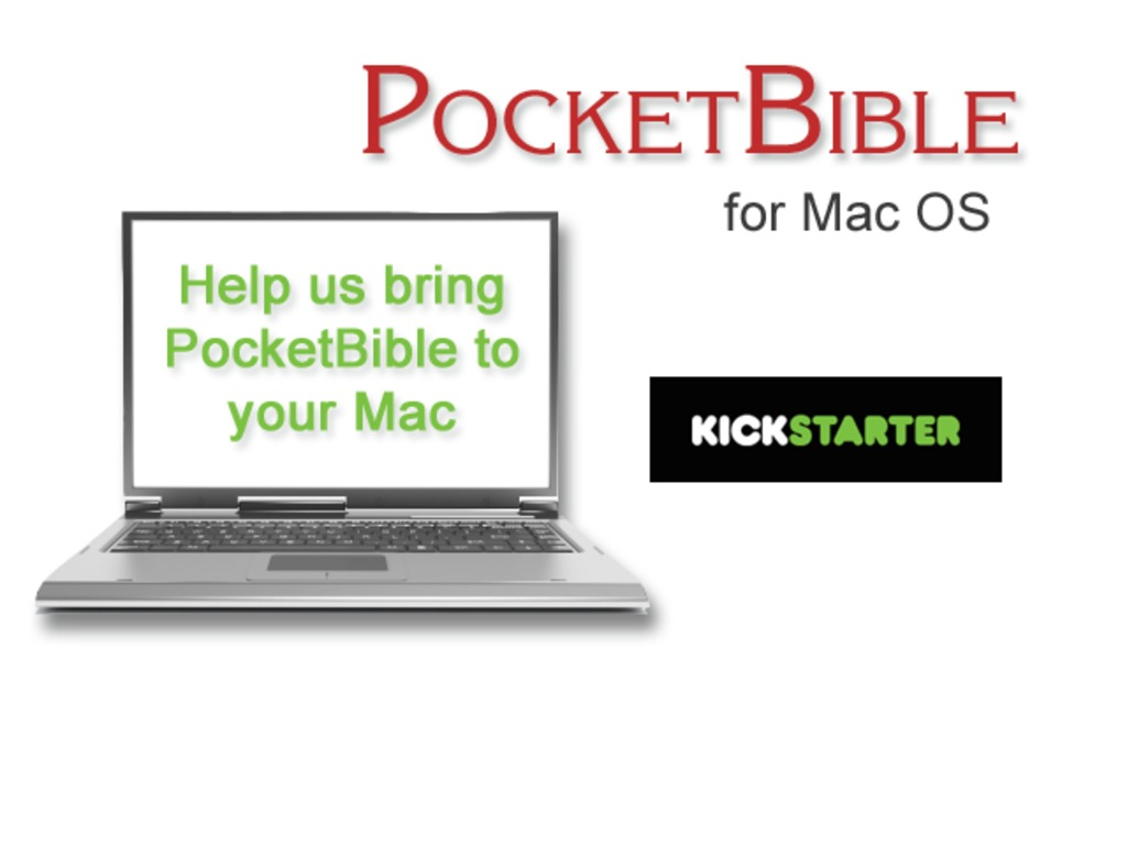 PocketBible for Mac OS's video poster