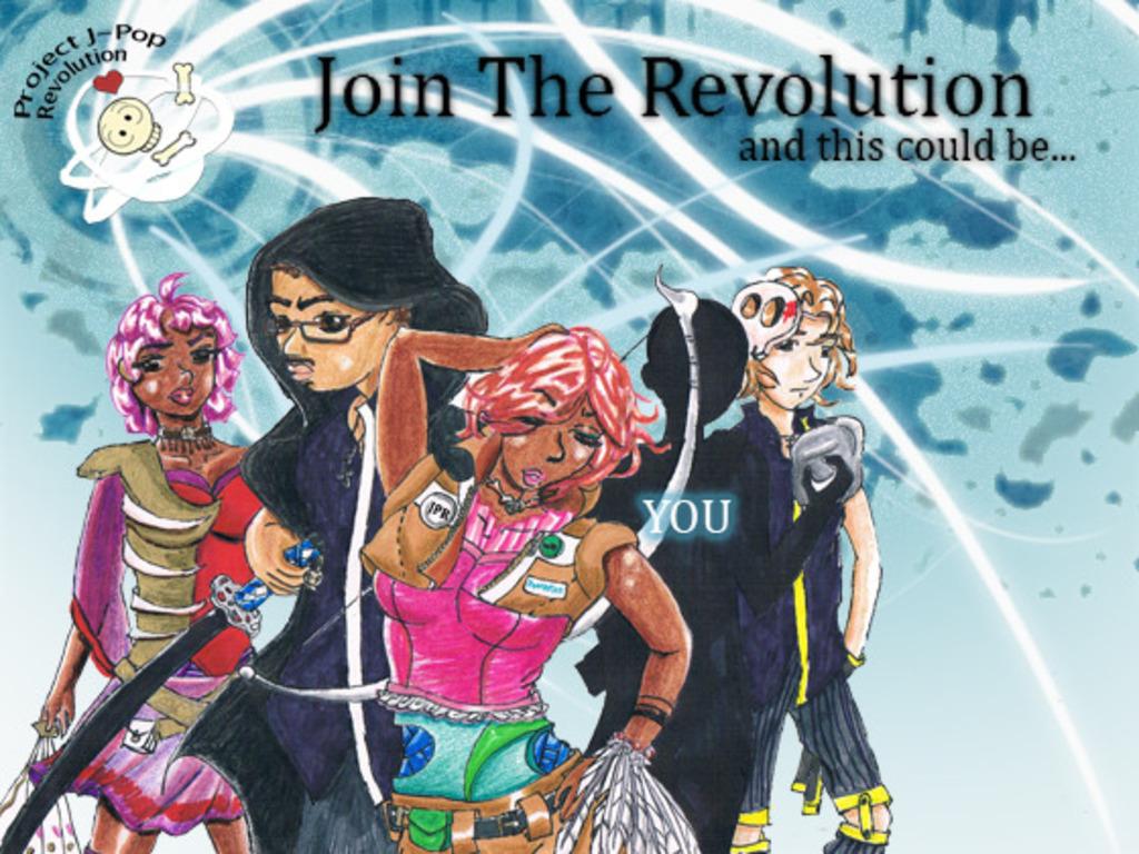 J-Pop Revolution's video poster
