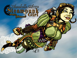 Annabelle Avery: Steampunk Girl, Vol. 1 by Matt Kelly