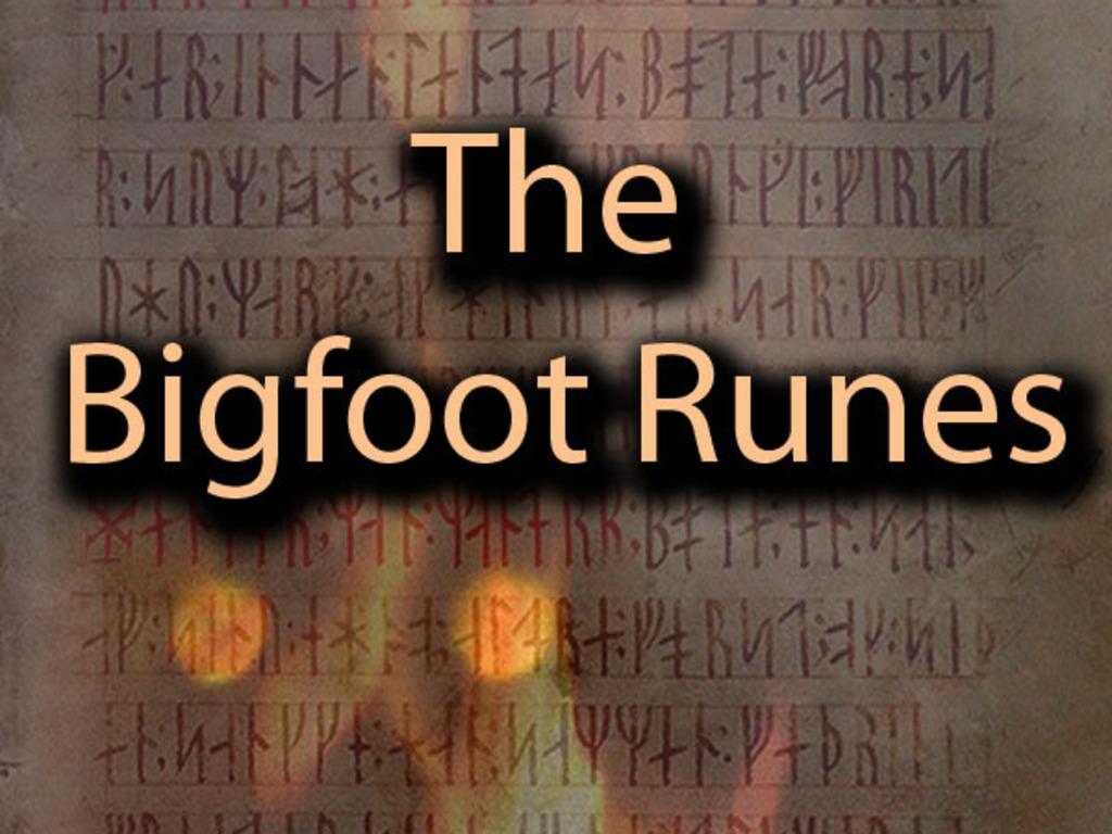The Bigfoot Runes's video poster