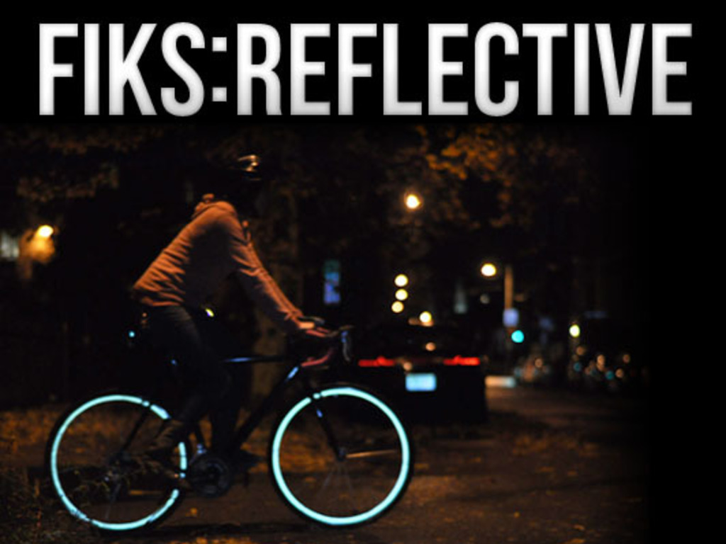 Fiks:Reflective Rim Stripes for Bicycles's video poster