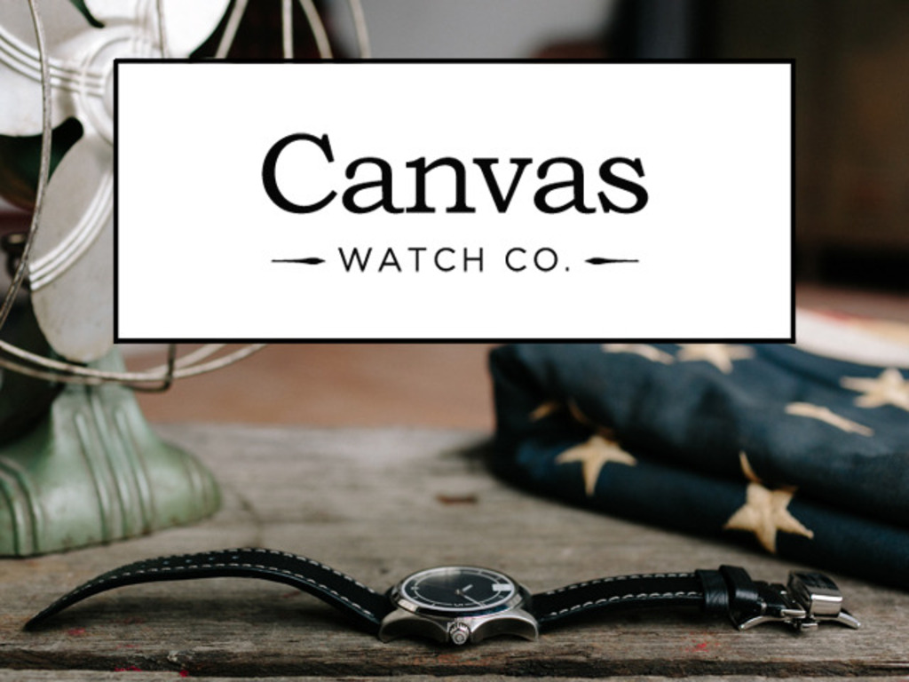 Canvas Watch Company : Community-driven Watch Design's video poster