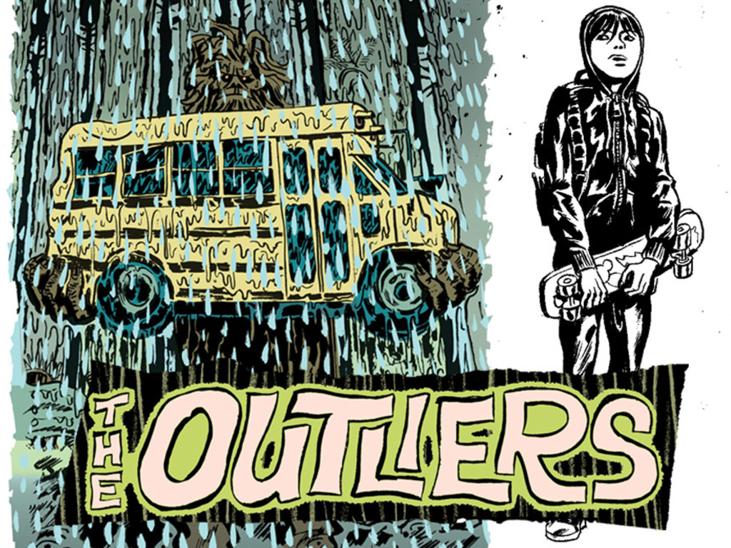 The Outliers - comic's video poster