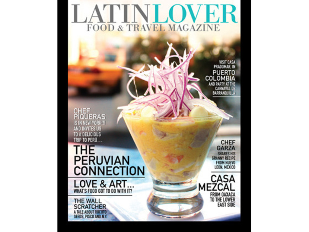 LATIN LOVER Food & Travel Magazine Launch: Print + App's video poster