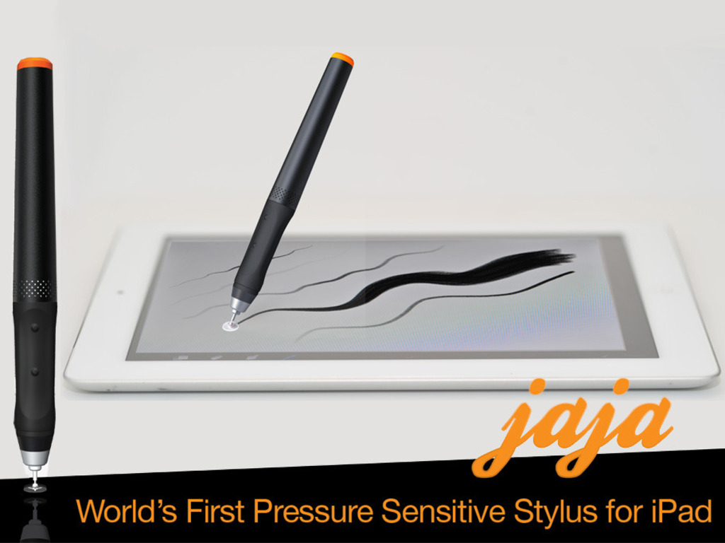 jaja :: Worlds First Pressure Sensitive Stylus for iPad's video poster