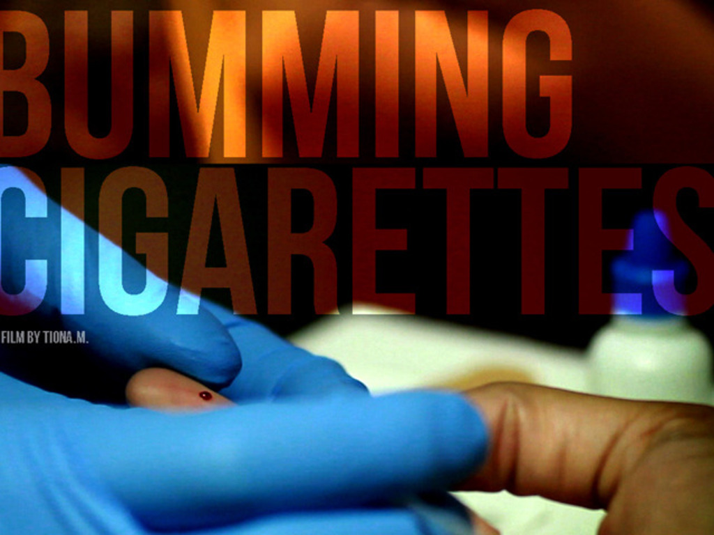 Bumming Cigarettes - A Short Film's video poster