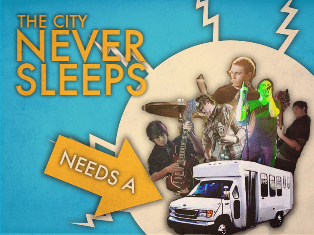 The City Never Sleeps Needs A Tour Vehicle!'s video poster