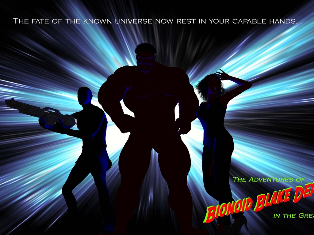 The Adventures of Bionoid Blake Dermont in the Great Beyond's video poster