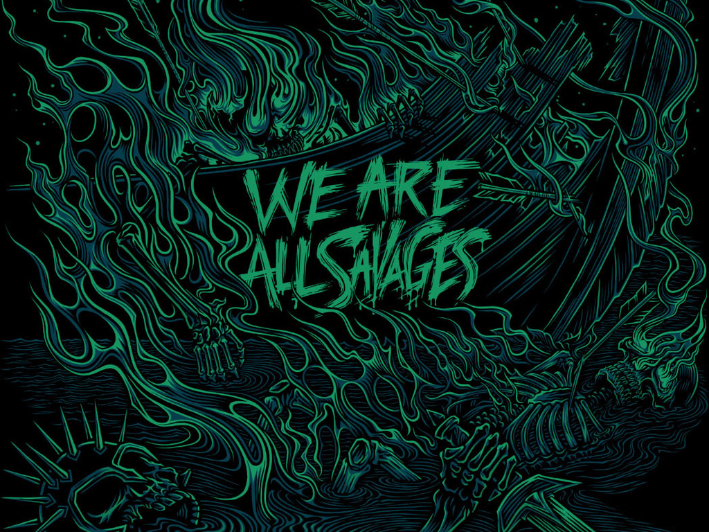 "Help Fund We Are All Savages Debut LP ""This Place Is Death""'s video poster"