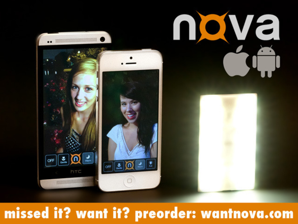 Nova: the wireless flash for better iPhone & Android photos's video poster