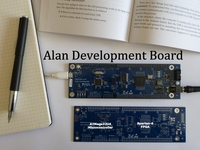 Alan - an Arduino compatible mircoprocessor and Xilinx FPGA
