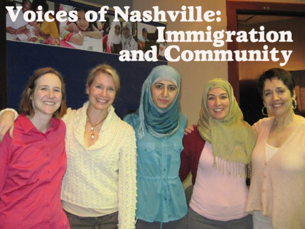 Voices of Nashville: Immigration and Community - a new play's video poster