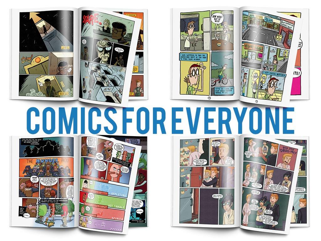 Not So Super Comics's video poster