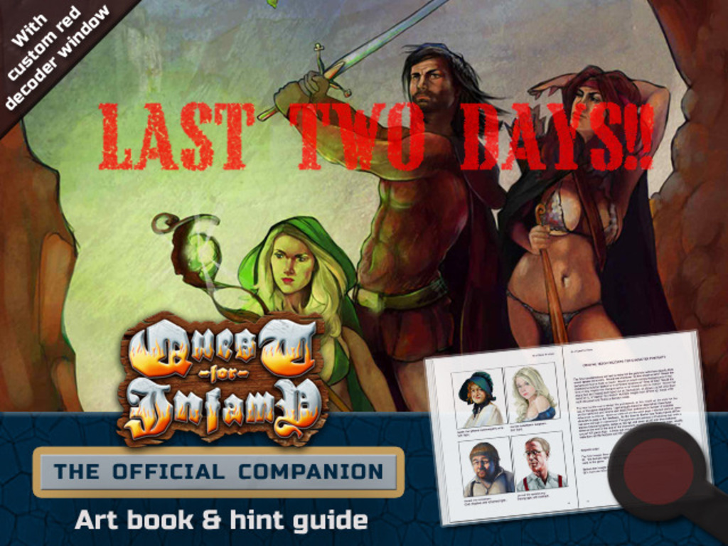 The Quest For Infamy Companion - Art/Strategy/Hint Book's video poster