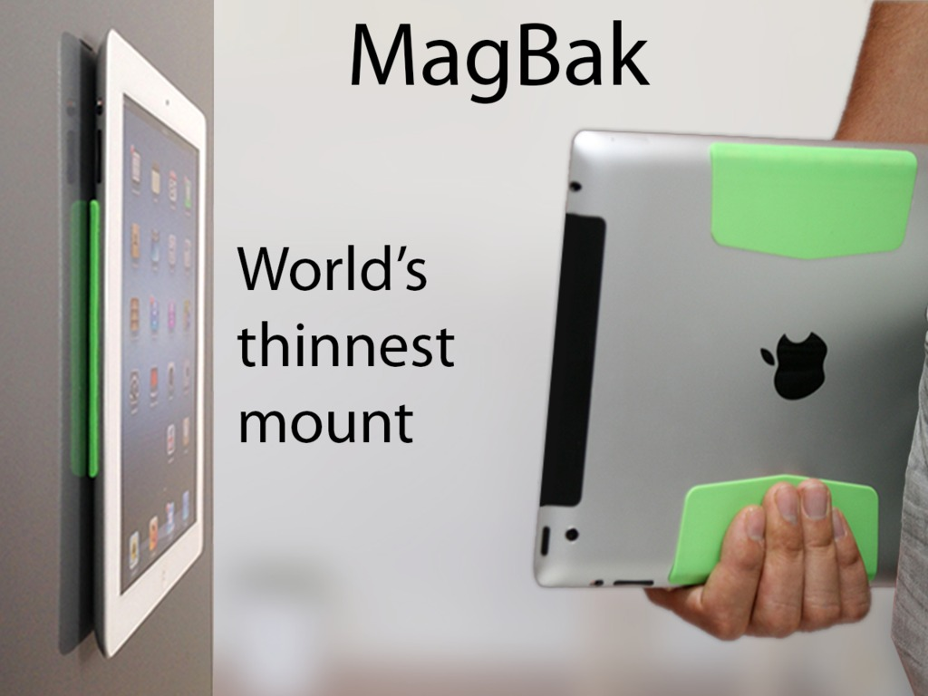 MagBak- Grips, protects & mounts iPad in a minimalist design's video poster