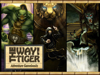 The Way of the Tiger Gamebooks, New Collector's Edition