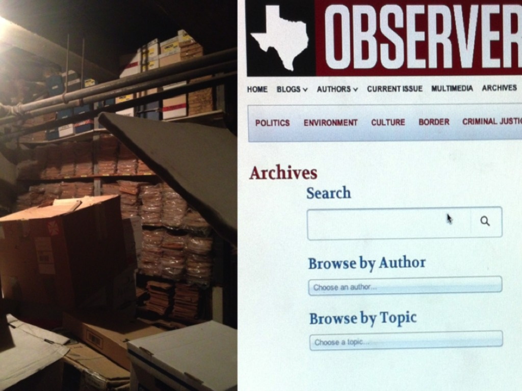 Digitizing 60 Years of The Texas Observer Archives's video poster