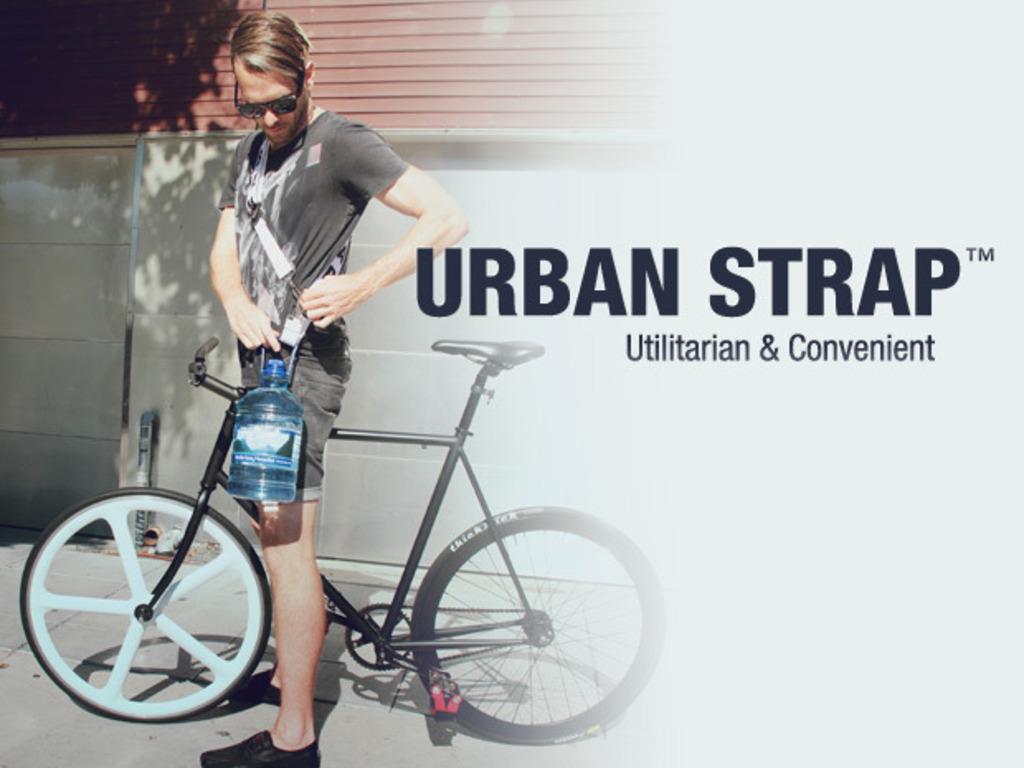 Urban Strap™ // Utilitarian & Convenient's video poster