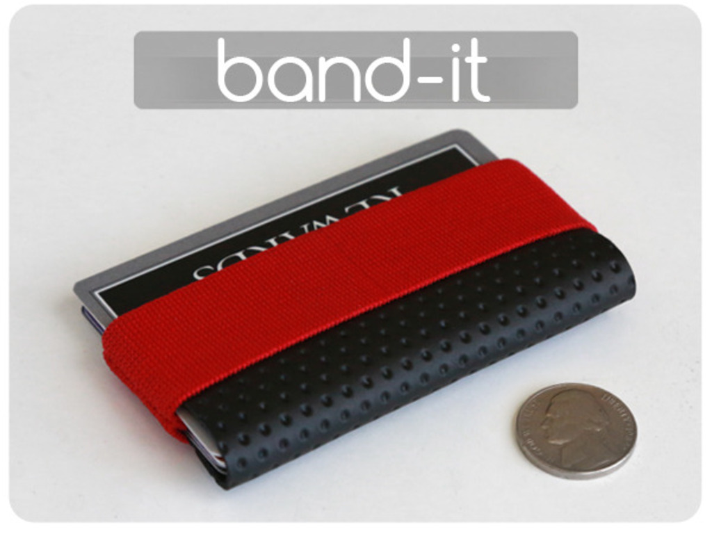 Band-it - extra small minimal wallet.'s video poster