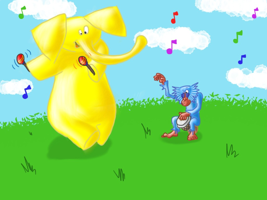 The Big Yellow Elephant and the Blue Baboon (Canceled)'s video poster