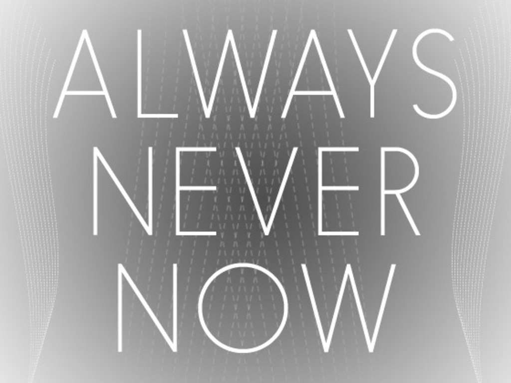 Always/Never/Now's video poster