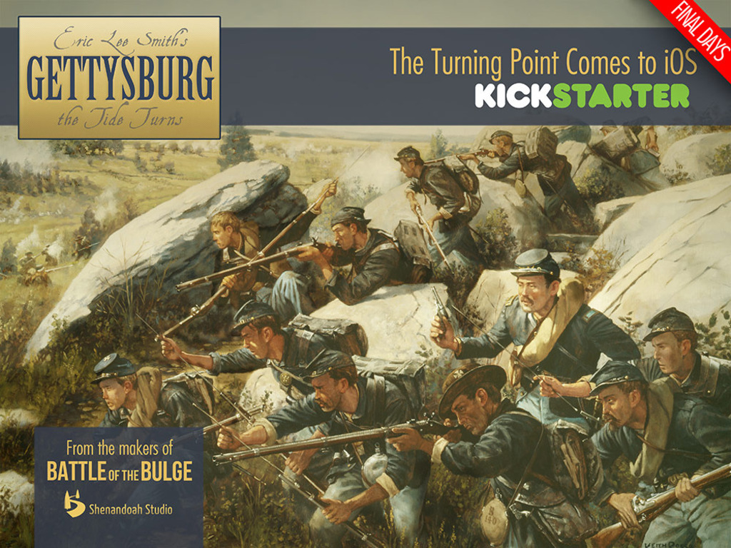 Gettysburg: The Tide Turns - iPad & iPhone Wargaming's video poster