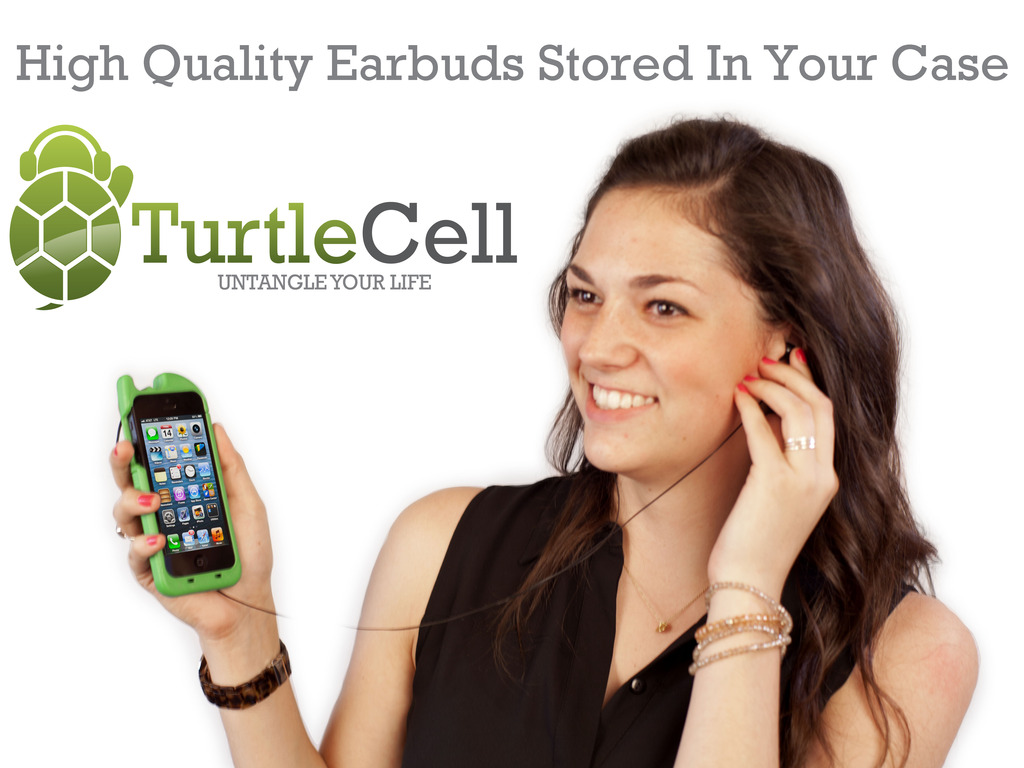 TurtleCell - iPhone Case with Retractable Earbud/Headphones's video poster