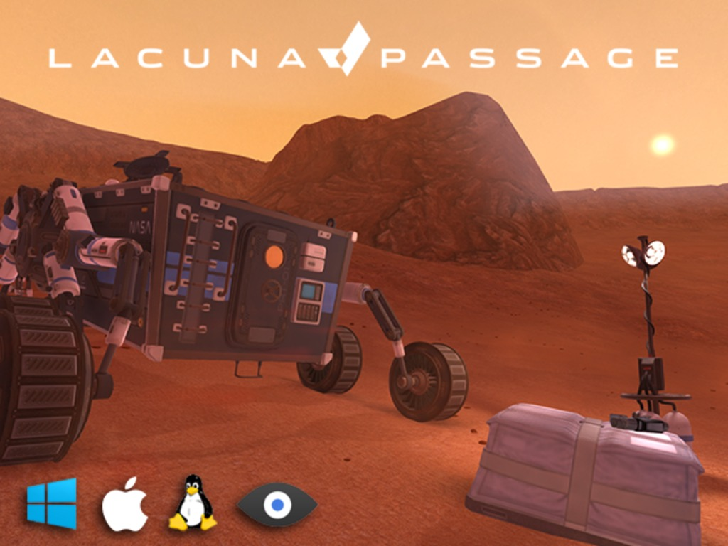Lacuna Passage: Mars Exploration and Survival's video poster