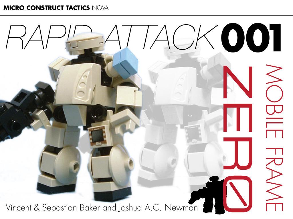 Mobile Frame Zero: Rapid Attack's video poster