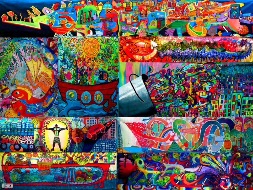 THE ARTDUDE CHILDREN'S MUSIC MURAL TOUR OF COSTA RICA's video poster