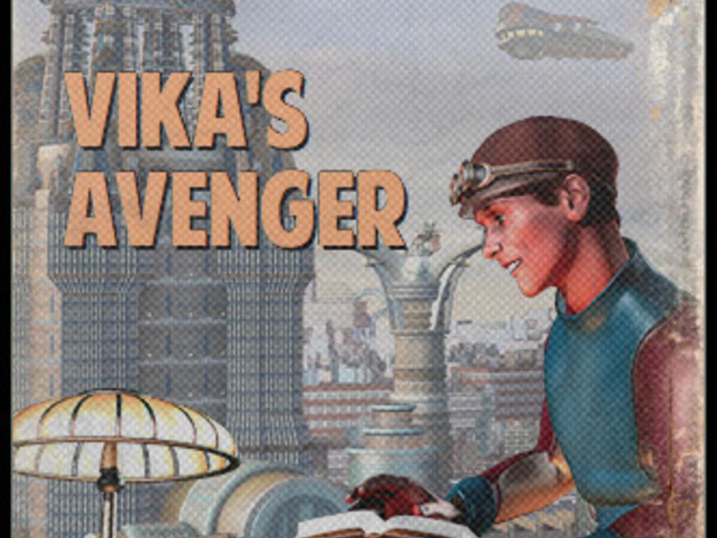 Publish Lawrence Watt-Evans' Vika's Avenger!'s video poster