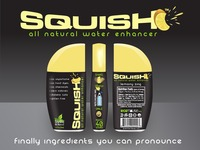 SQUISH | All Natural Flavored Water Enhancer!