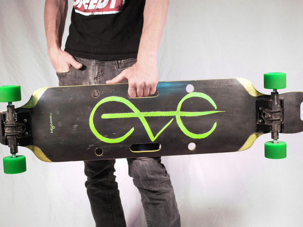 The EVE Longboard's video poster