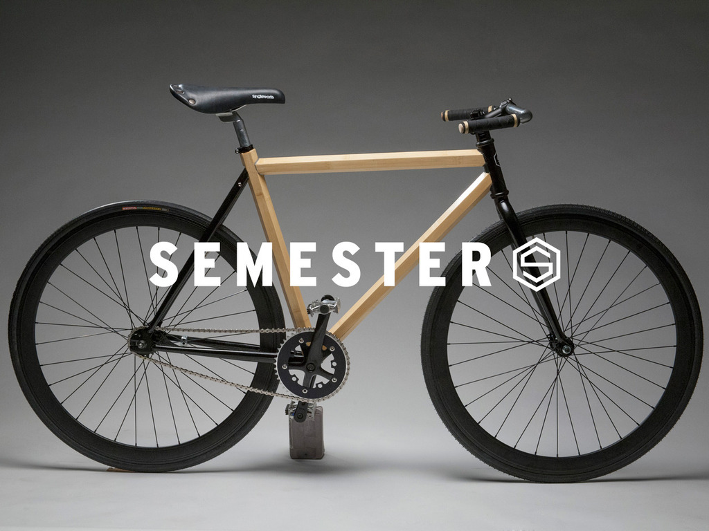 Semester Bicycle: HexTube Bamboo + Carbon Fiber Bike's video poster