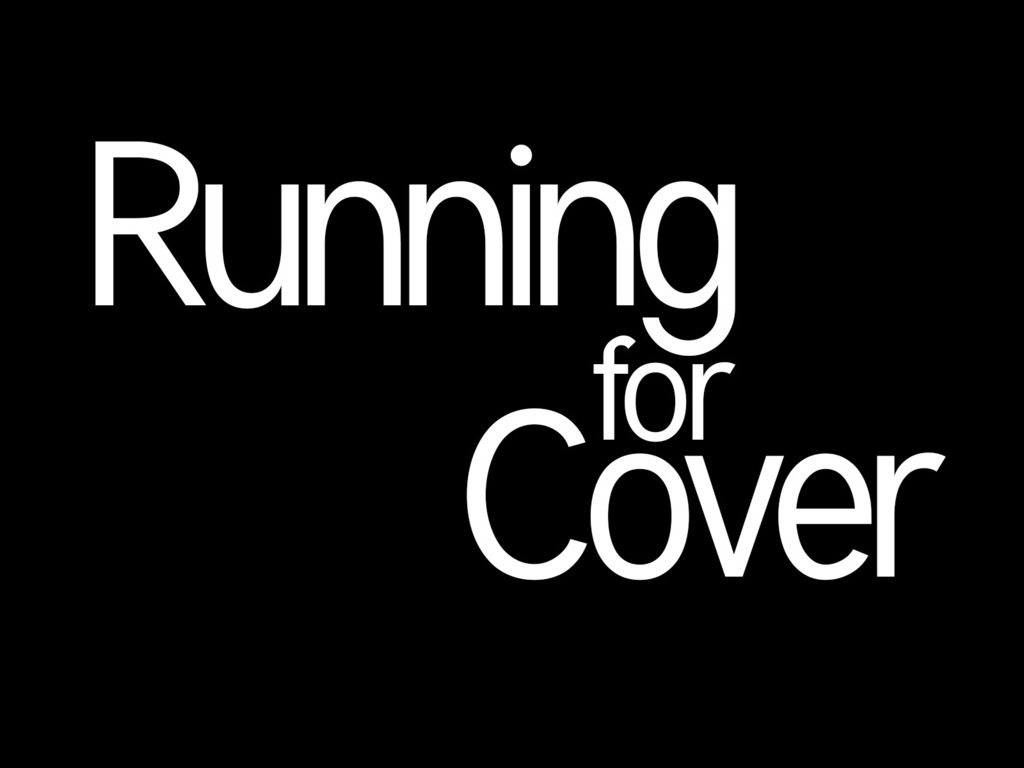 Running for Cover: A Short Film's video poster